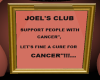 JOEL STORY ABOUT CANCER