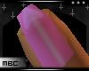 Pink S Valentine Nails