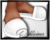 !D! PJ Slippers White