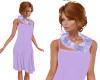 TF* Purple Scarf & Dress