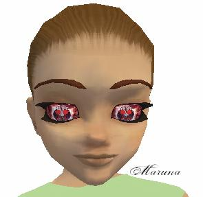 Bloody Gir Eyes