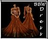 BBW Copper Dreams gown