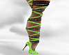 *AL* Lime Ribbon Heel