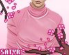 Turtleneck Shirt Pink