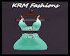 KRM) ML Teal ClubDress 2