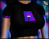 """Flammin' Purple"" Tee."