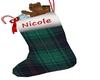 Nicole Xmas Stocking