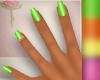 {JL} Vibe Nails Green