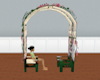 Garden arc chair