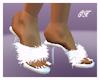 Boudoir Slippers White