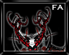 (FA)Red Prong Horns