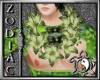 Island Grass Green Lei