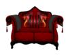 Flame Dragon cuddle sofa