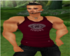 Versace Muscled Tank Red