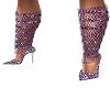 *AL* Purple Sparkle Heel