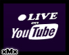 Live Youtube Sign W