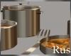 Rus Gold Pot Set