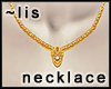 Necklace: Sun Shield