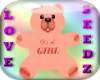 Its A GIRL Teddy Bear