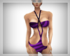 ~R~ purple swimwear