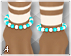 A| Lani Bead Anklets