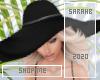 Silver Beach Hat