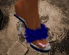 !C-Sexy Blue Slippers