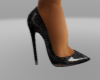 Lina Black Heels