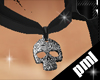 [PLM]death head collar