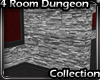4 Room Dungeon Wall 1 SL