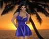 -1m- Dblue sexy dress