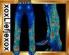 [L] Peacock Pants