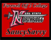 Saucy's College Banner