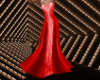 Holiday Red Gown