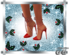 Genny Christmas Red Shoe