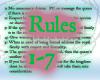 [K] Darkthorn Rules 1-7