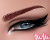 mm. KD Eyebrows Red