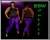 BBW I'm a Star Purple