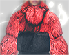 I│Kacy Mini Fur Red