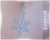 E~ Snowflake Belly Ring