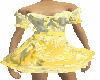 Yellow lace Maid dress