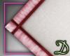 [D] White/Pink Rug