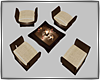 Chair Modern Set Mesh