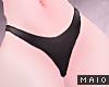 🅜 COW: black panties