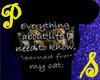 Everything  Cat - Black