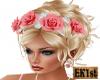 Flower Headdress (Peach)