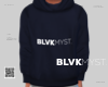 THE LAUNCH HOODIE NAVY M