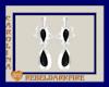(CR) Blk-White Earrings