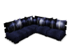 Blues Modern Couch