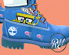 BLUE SPONGEBOB TIMBS